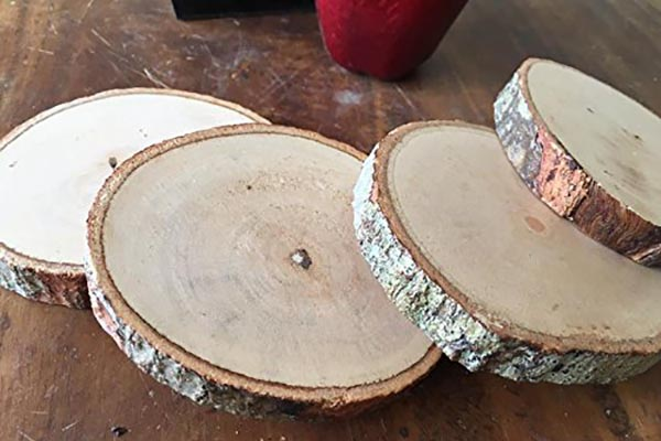 Recycling Christmas Trees into Coasters